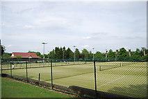 TQ2472 : Wimbledon Park tennis courts by N Chadwick