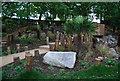 TQ2472 : Wimbledon Park - Waterfall Garden by N Chadwick