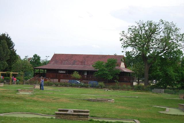Wimbledon Park cafeteria