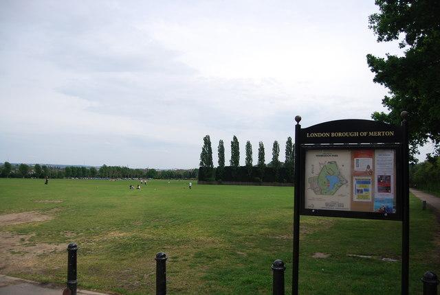 Wimbledon Park, Wimbledon Park Rd entrance