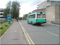 ST2995 : Town and Country bus for Chepstow, Glyndwr Road, Cwmbran by Jaggery