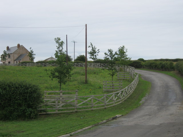 Drive to Broomside House just north of Sherburn