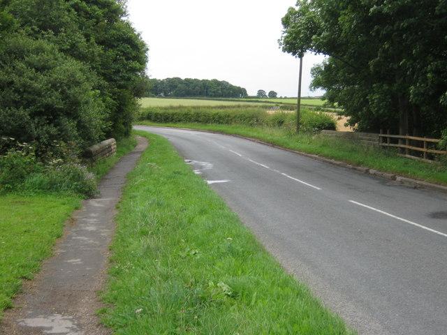 Coalford Lane crossing Coalford Bridge
