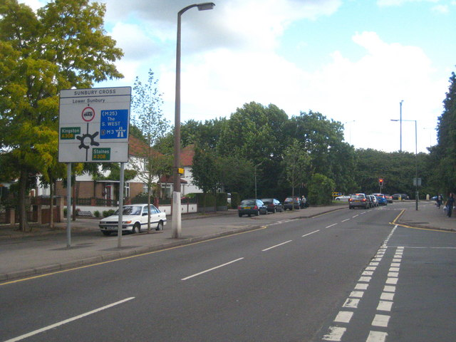 Vicarage Road Sunbury