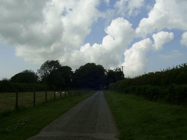 Country road, Little Treffgarne