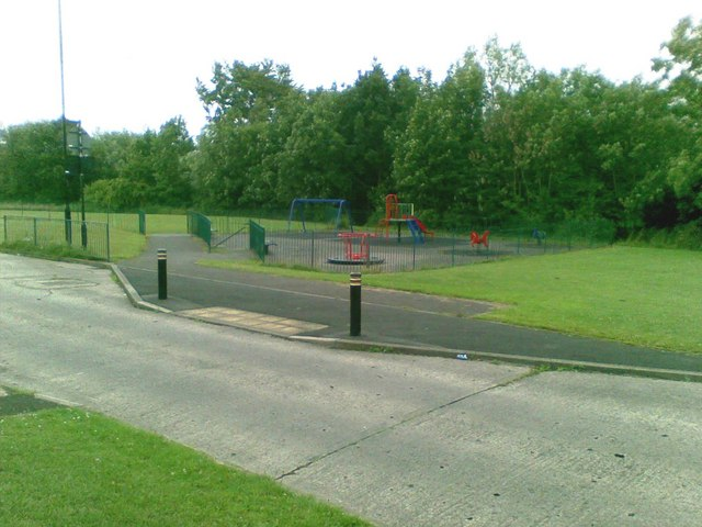Play area, Cricklewood Road, Hylton Castle