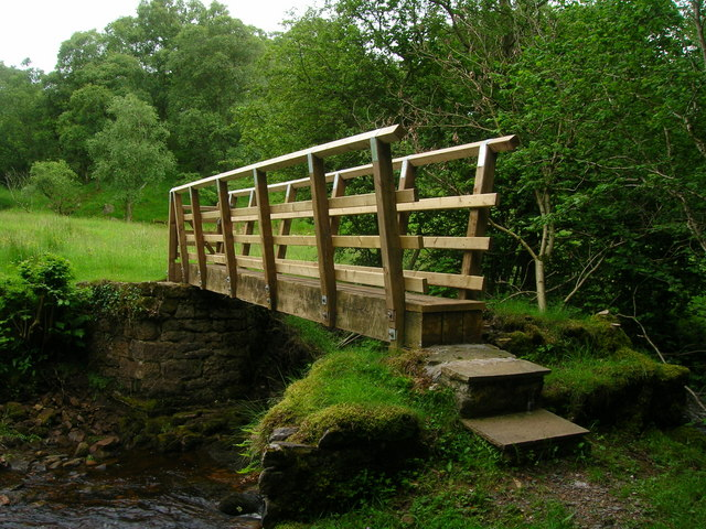 Footbridge over Argill Beck