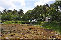 NM4099 : Isle of Rum Visitor Centre by Ashley Dace