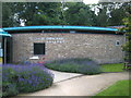 TQ1068 : The Embroidery Gallery in The Walled Garden at Sunbury by Rod Allday