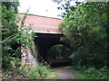 TQ2391 : Former railway bridge, Mill Hill by Malc McDonald