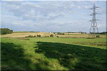 SD8611 : Green fields between Heywood and Rochdale by Bill Boaden