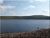 NY7930 : Cow Green Reservoir, north and south shores by Trevor Littlewood