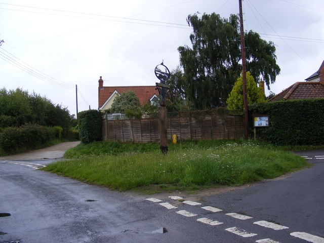Eastbridge Village sign