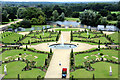TQ1568 : Formal Garden, Hampton Court Palace, Surrey by Christine Matthews