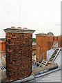 TQ1568 : Chimneys and Ladders, Hampton Court Palace, Surrey by Christine Matthews