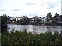 TQ1673 : Houses in Riverside Twickenham by Rod Allday