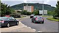 J3477 : Slip-road, Fortwilliam roundabout, Belfast (4) by Albert Bridge