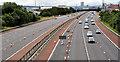 J3477 : Safety barrier replacement, M2, Belfast (2) by Albert Bridge