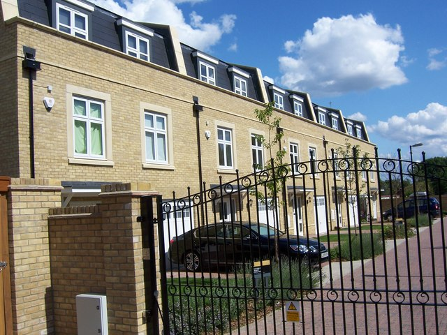 Storey Close New Housing On Former Raf 169 Ian Harrison
