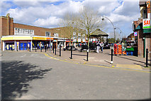SP8733 : Elizabeth Square, Queensway, Bletchley by Cameraman