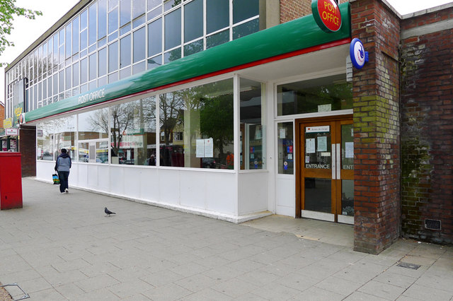 The Post Office, Queensway. Bletchley