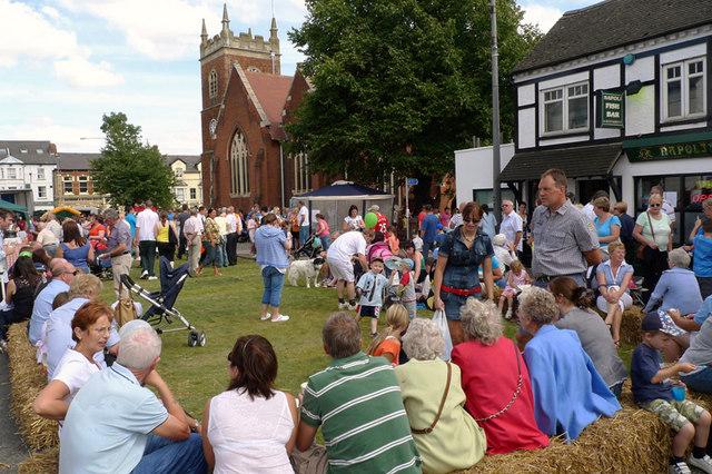 The Fenny Poppers Festival, Aylesbury Street, Fenny Stratford