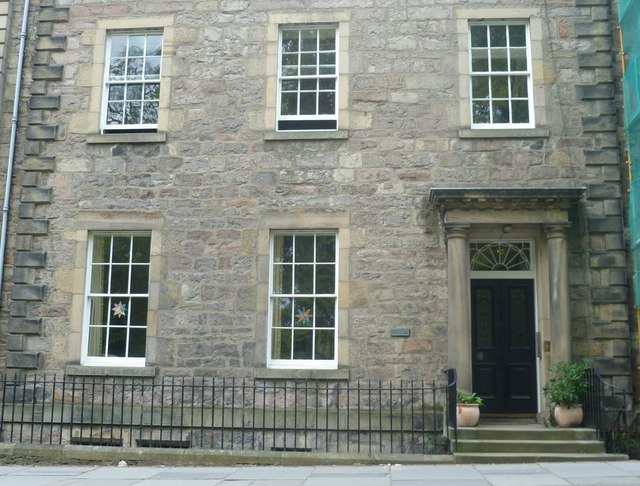 Home of Walter Scott, George Square