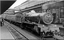 SX9193 : Holiday Relief express at  Exeter St David's station by Ben Brooksbank