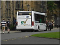 NZ2742 : Electric bus on Palace Green by rob bishop