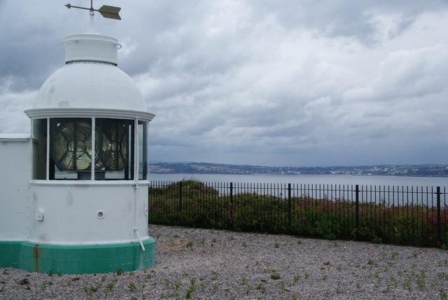 Lighthouse on Berry Head