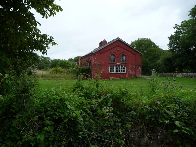 Old waterworks building, Milton
