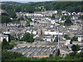 SD5192 : Kendal - view west from Castle Hill by Dave Bevis