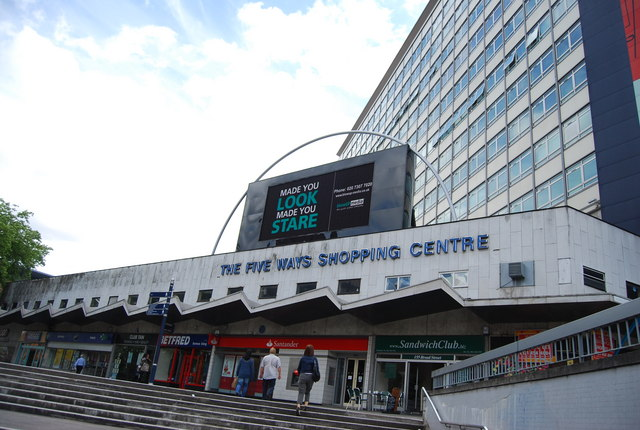 The Five Ways Shopping Centre