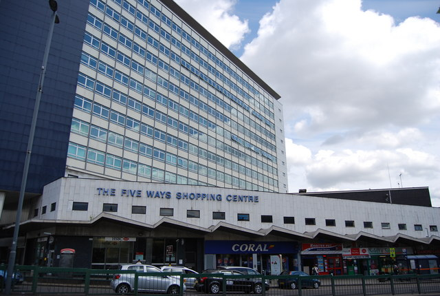 Five Ways Shopping Centre