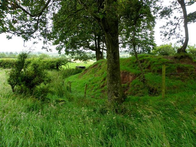 Rath, Errigal (closer view)
