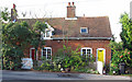 TM1340 : Cottages on The Street by Roger Jones