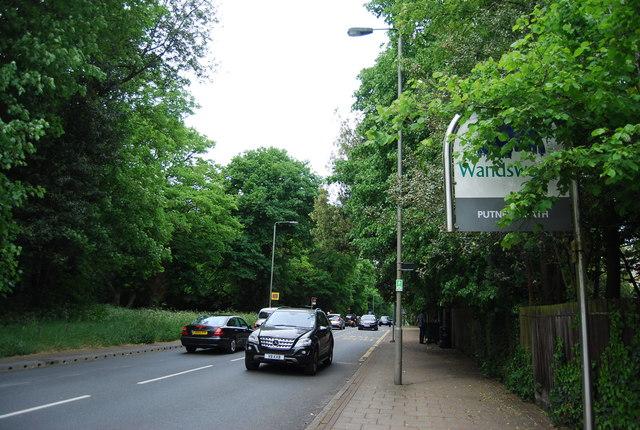 Entering Wandsworth, Wimbledon Park Side
