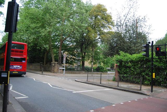 Inner Park Rd off Wimbledon Park Side