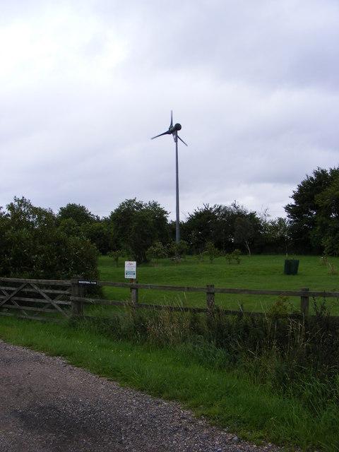 Wind Turbine at Wardspring Farm
