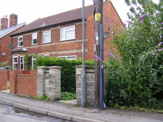 Footpath to Abbey Lane