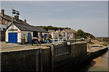 SS2006 : Bude : Bude Canal & Buildings by Lewis Clarke