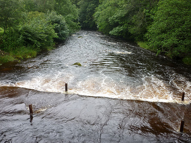 Ford over the Rawthey at Crook Holme, Cautley