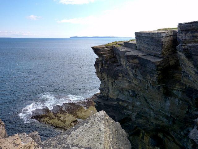 Cliffs at Holborn Head