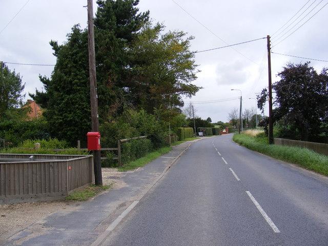 B1122 Abbey Road & Abbey Road George V Postbox