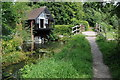 SU7678 : Shiplake College Boathouse by Philip Halling