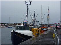 NT6779 : Dunbar Lifeboat Day 2011 : The Home Fleet at Victoria Harbour, Dunbar by Richard West