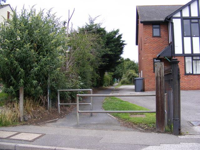 Footpath to Westwood Ho