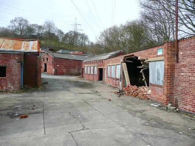 Buildings in Allen's Fireclay Works, Southowram