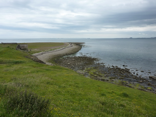 View towards Castle Point, Holy Island