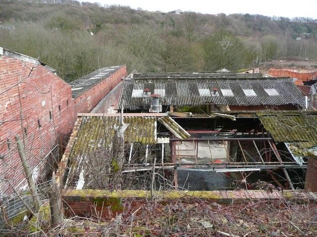 Allen's Fireclay Works, Southowram